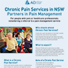 NSW Chronic Pain Clinics Information Flyer