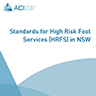 Standards for High Risk Foot Services (HRFS) in NSW