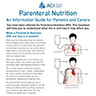 Parenteral Nutrition Factsheet